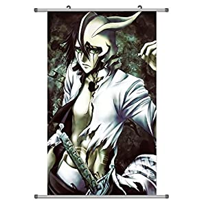 A Wide Variety of Bleach Anime Characters Wall Scroll Hanging Decor (Ulquiorra Cifer 1)