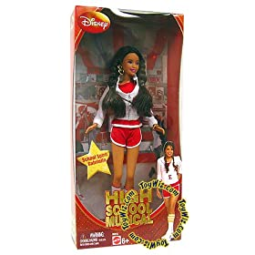 High School Musical 2 School Spirit Gabriella Doll