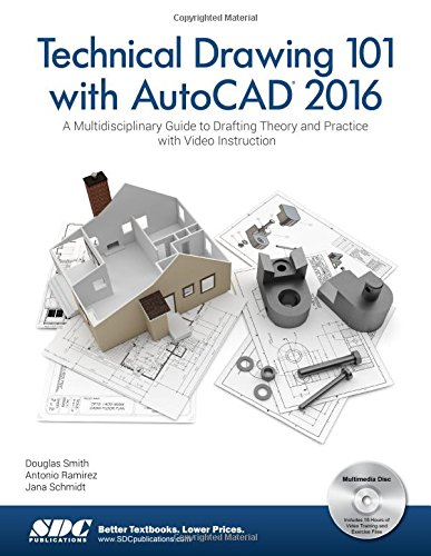 Download Technical Drawing 101 with AutoCAD 2017 Ebook Free