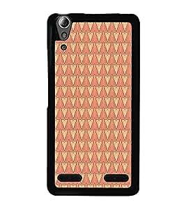 Colourful Pattern 2D Hard Polycarbonate Designer Back Case Cover for Lenovo A6000 :: Lenovo A6000 Plus :: Lenovo A6000+