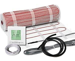 KomplettSet elektrische Fußbodenheizung BZ150 plus / 3,8 m²  BaumarktRezension