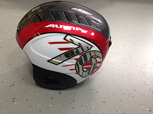 Kinderskihelm Alpina CARAT red white 54-58