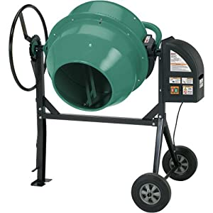 Grizzly 74050 Heavy-Duty Cement Mixer, 47-Gallon