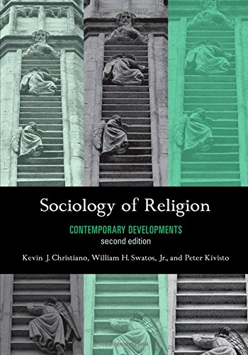 Sociology of Religion: Contemporary Developments