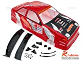 1/10 NISSAN DR86 200 SX Ogura Racing Clutch 200mm PVC Printed RC Car Body - Red