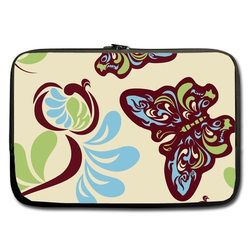 Painting Beautiful Butterfly Graceful Dancing Sleeve For Macbook Pro / Sleeve For Laptop / Notebook Computer / Macbook / Macbook Pro / Macbook Air 17''