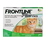 Frontline Plus Flea and Tick Treatment for Dogs 8 Month Supply (CAT) (Tamaño: CAT)