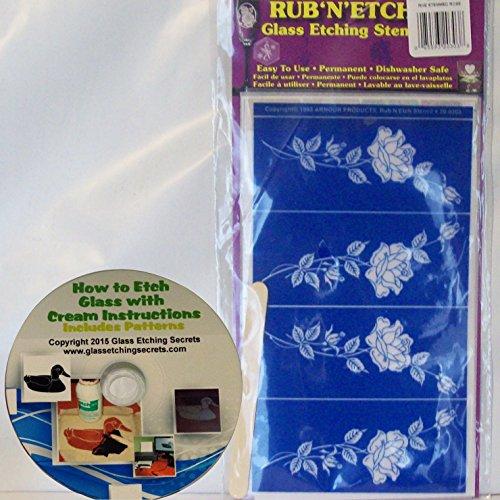 Rub Off Stencils : Armour products etch rub n stencil inch by