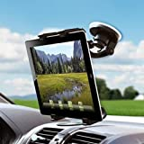 SQdeal Universal Dashboard Car Mount Holder Cradle For Apple iPad / iPad2 / Ipad3 / Ipad4 /iPad Mini