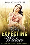 MAIL ORDER BRIDE: Clean Romance: The Expecting Widow (Historic Inspirational Pregnancy Romance)
