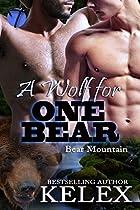 A WOLF FOR ONE BEAR (BEAR MOUNTAIN BOOK 15)