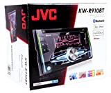 JVC KW-R910BT Double Din Car CD AM/FM Player Receiver w Bluetooth/iPhone/Android