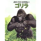 動物イラスト生態図鑑 8 ゴリラ
