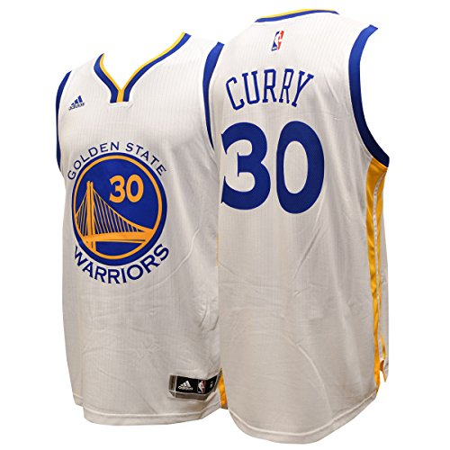 Stephen Curry Golden State Warriors Adidas Swingman White Jersey