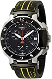 Tissot T-Race Chronograph Black Dial Black Rubber Mens Watch T0484172705103