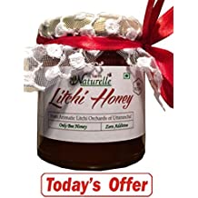 1 Litchi Honey !! 250 Gms !! SAVE Rs.98 TODAY !! The Finest 100% Pure Raw Natural Honey Unprocessed Honey-MRP...