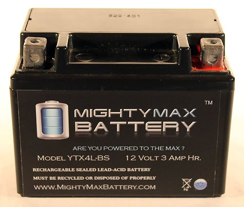 Ytx4L-Bs Replacement For Adventure Power Yt4L-Bs Gt4L-Bs Battery