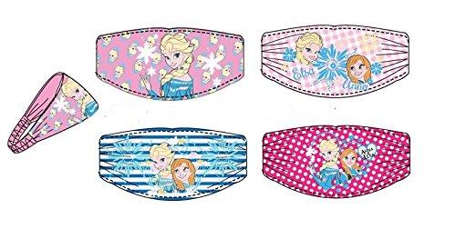 4er Pack Disney Frozen Die Eiskönigin Haarband Stirnband Kopfband