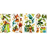 RoomMates RMK2136SCS  Dinosaur Train Peel and Stick Wall Decals