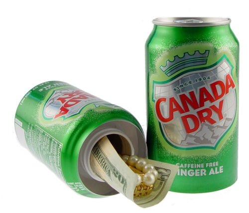Fake Soda Can Diversion Safe Decoy Canada Dry Ginger Ale (Soda Can Stash compare prices)