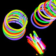 Etekcity 100 8″ Light up Glow Sticks…