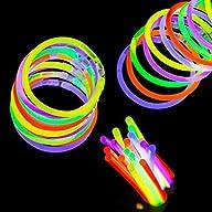 Etekcity 100 8″ Light up Glow Sticks…