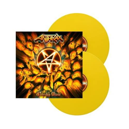 Worship-Music-Yellow-Vinyl-Analog-Anthrax-LP-Record