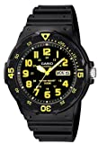 Casio #MRW200H-9BV Men's Easy Reader 100M Sports Analog Watch
