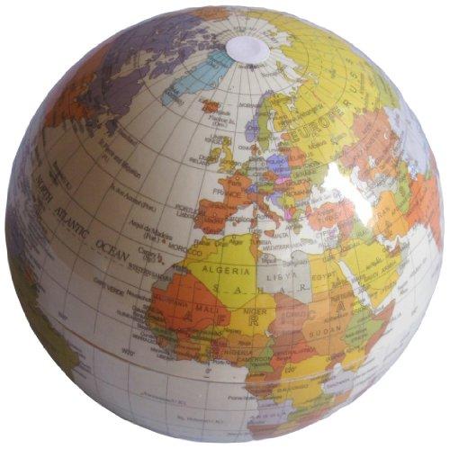 Creative Motion Rotating Globe, Brown