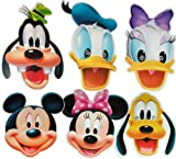 Disney - MULTI PACK - Card Face Masks