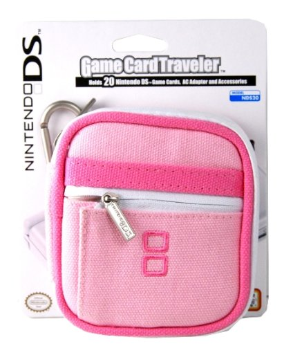 Dsi/DSLite Nintendo Game Card Traveler - Pink