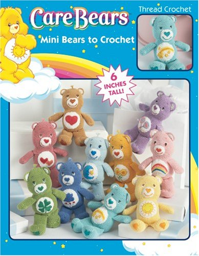 Mini Care Bears Characters To Crochet (Leisure Arts #4156) front-963193