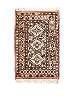 RugSense Alfombra Kashmir Marrón/Multicolor 96 x 61 cm