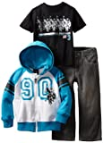 U.S. POLO ASSN. Boys 2-7 Jacket with Tee and Pant