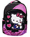 Hello Kitty Backpack - Black/Pink, 16