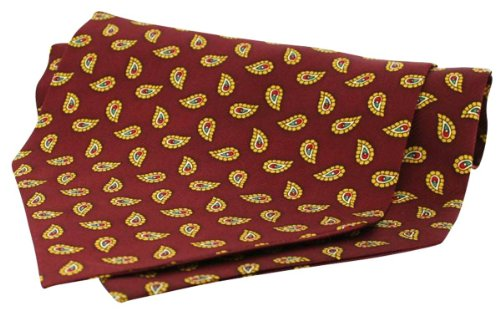 Braun Silk Twill Selbst Krawatte Halstücher