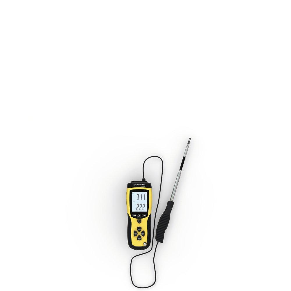 TROTEC Anemometer TA300 gerade Sonde inkl. cal. Zertifikat  BaumarktKundenbewertung und Beschreibung
