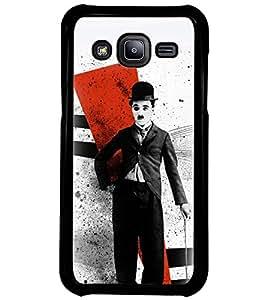 Printvisa Vintage Comedian Pic Back Case Cover for Samsung Galaxy J2::Samsung Galaxy J2 J200F