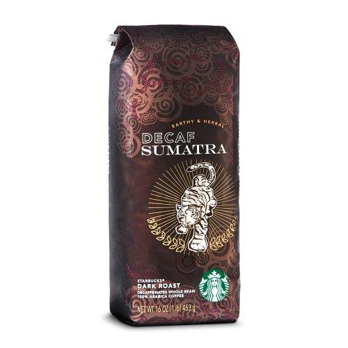 Starbucks Decaf Sumatra, Whole Bean Coffee (1lb)