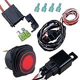 Nilight Off Road ATV Jeep LED Light Bar Wiring Harness Kit...