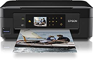 Epson Expression Home XP-412 Multifunktionsdrucker (Kopierer, Scanner, Drucker, WLAN, USB 2.0)