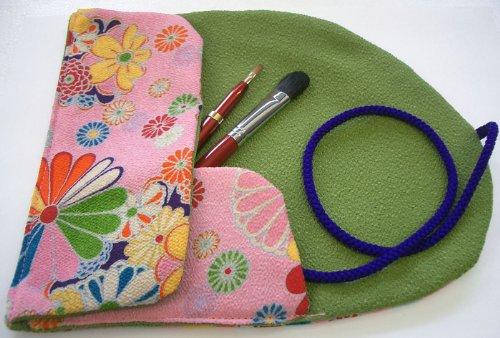 伝統工芸品 熊野筆 化粧ブラシセット シャドウブラシ&リップブラシ