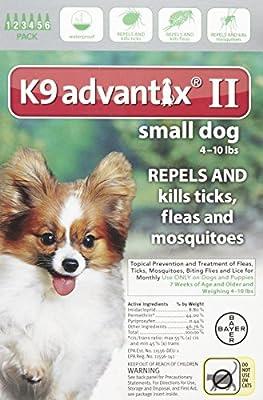K9 Advantix II Small Dog 6-Pack