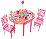 Barbie House Dream Beauty Dinner to Dessert Dining Room