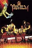 Poster - Trivium - Poster - Fire + 1 Packung tesa Powerstrips ® - Inhalt 20 Stück von Trivium
