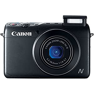 Canon PowerShot N100 HS 12.1MP Digital Camera (Black)