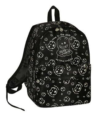 Ladies Girls David & Goliath We Have Cookies Backpack Bag (DGDS8556BLK)