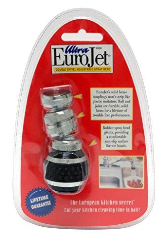 Ultra EuroJet Kitchen Sprayer, Black (Kitchen Faucet Head With Sprayer compare prices)