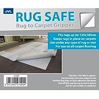 JVL Safe Carpet Gripper Rug, 120 x 180 cm by JVL