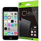 i-Blason 3 Pack for Apple iPhone 5C / iPhone 5S / iPhone 5 Screen Protectors Premium HD Clear Version Life Time Warranty (AT&T, Verizon, Sprint, T-mobile, All Carriers) Reviews
